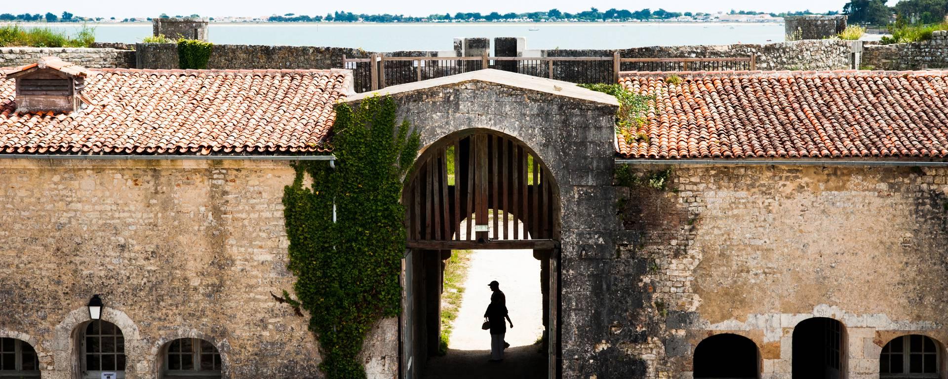 Le fort la Prée à La Flotte en Ré par Elsa Giraud