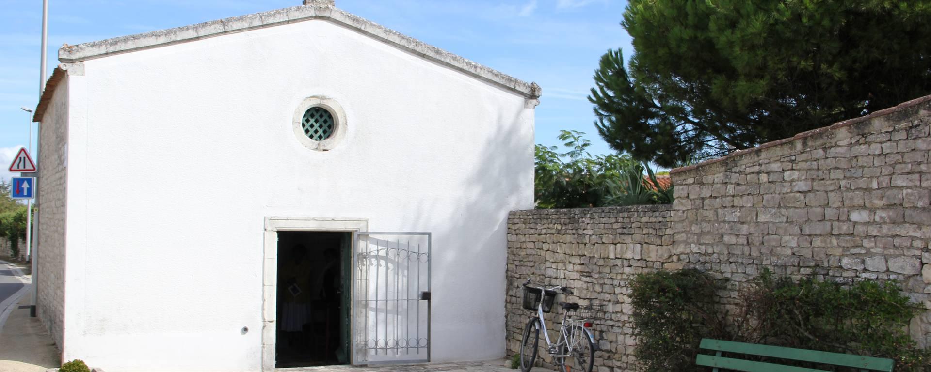 Chapelle Port Notre Dame à Sainte Marie de Ré