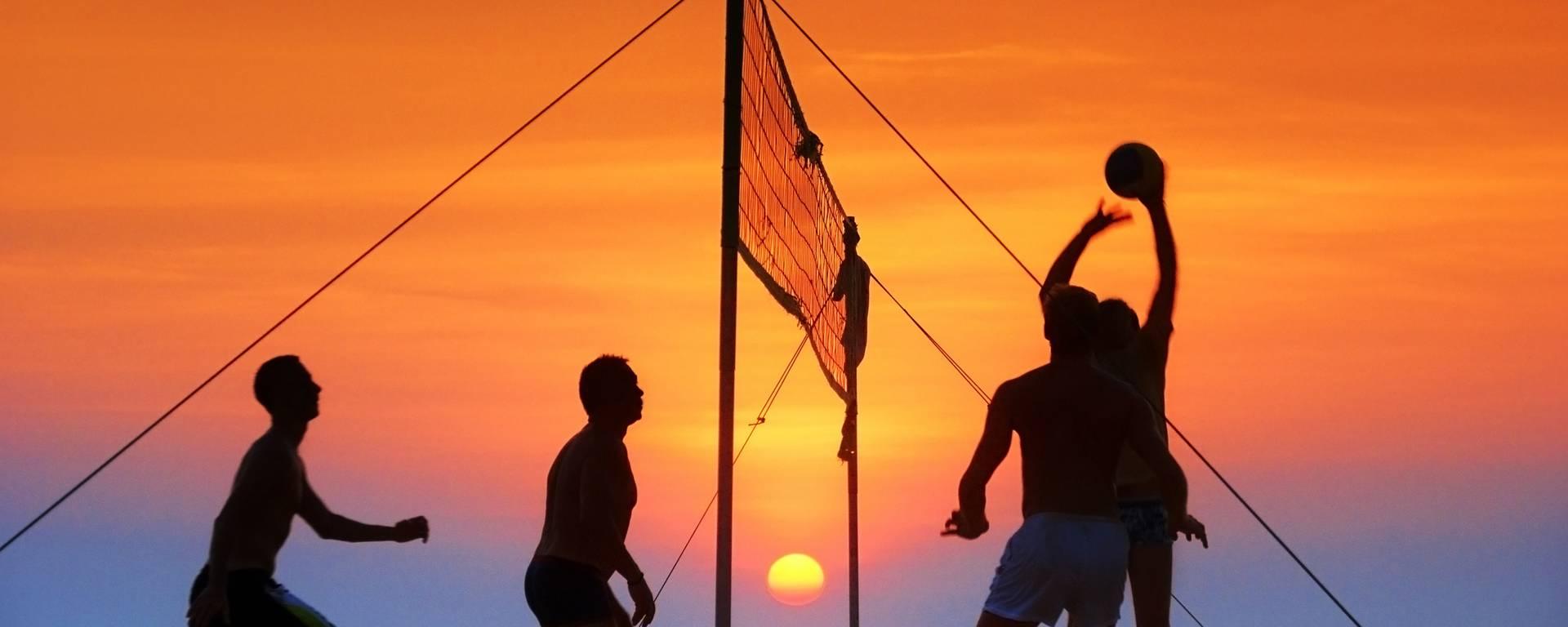 Le Beach Volley sur les plages du Bois-Plage
