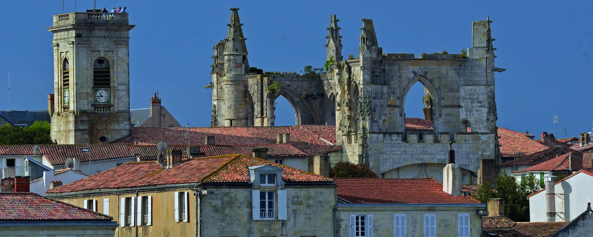 L'église de Saint-Martin de Ré