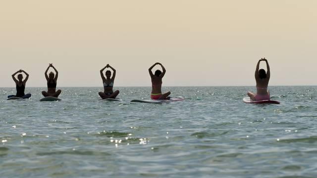 Sup Yoga par Yann Werdefroy