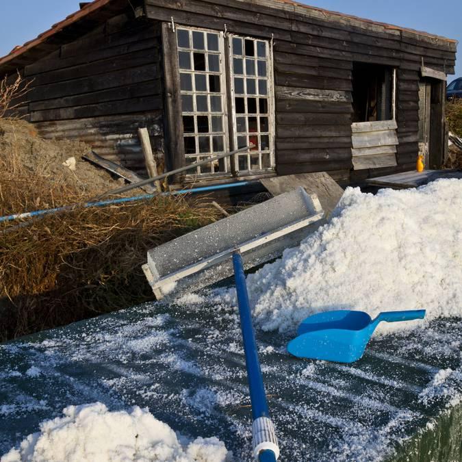 Cabane, récolte de sel ©François Blanchard