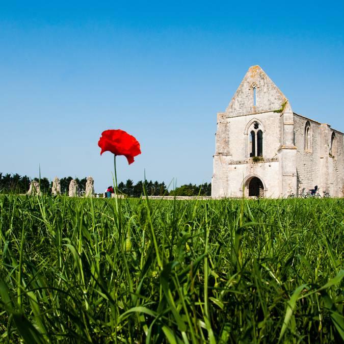 Abbaye des Châteliers ©Elsa Giraud